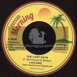 "Blessed Morning-7""-The Last Days / Luciano + Blender Special / Blessed Morning All Stars"
