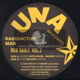 "Una Sound-12""-Dub Vault Vol.2 / Radioactive Man"