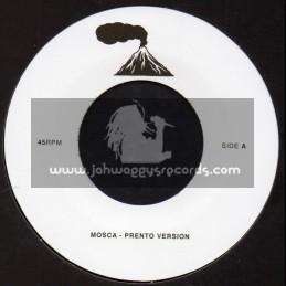 """Lava Lava-7""""-Prento Version / Mosca + Fever Version / Mosca"""