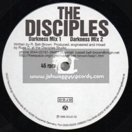 "Dojo-12""-Darkness / The Disciples + Dil De Doh / The Dub Factory - 1999"