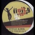 """LIVITY REGGAE-12""""-WEED THEM OUT / LITTLE KIRK + PAM PAM / FRED CASH"""