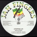 """Jah Fingers Records-12""""-Stepping Up / Alpha And Omega Feat. Nishka - Disciples Remix"""