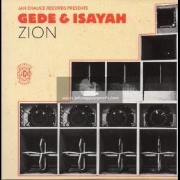 "Jah Chalice Records-7""-Zion / Isayah & Gede"