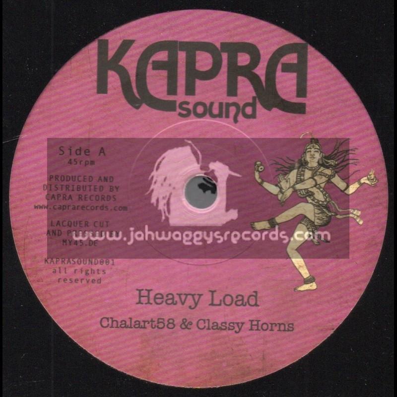 "Kapra Sound-7""-Heavy Load / Chalart58 & Classy Horns + Heavy Dub / Dennis Capra"