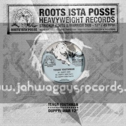 "Roots Ista Posse-12""-Duppy Deh / Tenor Youthman + War Inna East / Tenor Youthman"