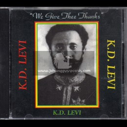Twinkle Music-CD-We Give Thee Thanks / K.D. Levi