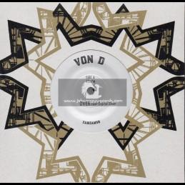 """ZamZam-7""""-Over / Von D Feat. Digital Sham + Chalice Overdubs / Von D"""