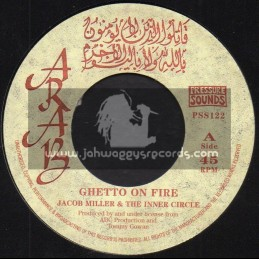 "Arab-7""-Ghetto On Fire / Jacob Miller + Dangerous Version / The Inner Circle"