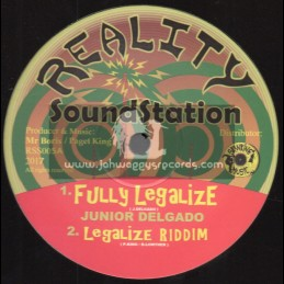 """Reality Sound Station-12""""-Fully Legalize / Junior Degado + Legalize Horns / Henry Lowther"""