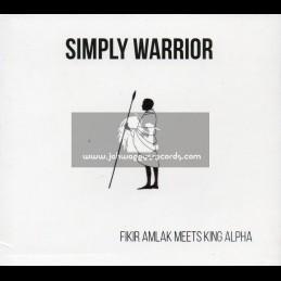 Akashic Records-CD-Simply Warrior / Fikir Amlak Meets King Alpha