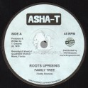 """Asha-T-Top Ranking Sound-7""""-Roots Uprising / Family Tree"""