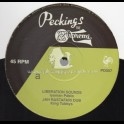 """Peckings Records-12""""-Liberation Sounds / Iyaman Pablo + Death Before Dishonour / Patrick Matic"""