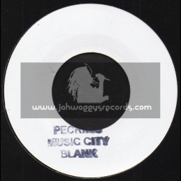 """Peckings Music City-7""""-Darling Forgive Me / Cornel Campbell + Let The Music Play / Cornel Campbell"""