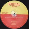 "Partial Records-7""-73 Salute / Liam Partial + 73 Version / Partial Crew"