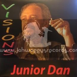 Hi Try Records-Lp-Visions / Junior Dan