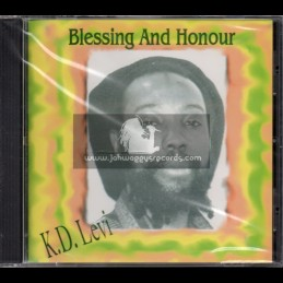 Twinkle Music-CD-Blessing And Honour / K.D. Levi