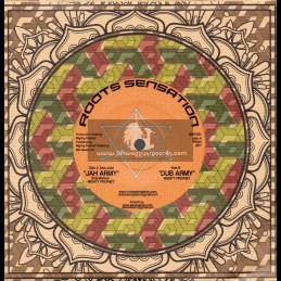 """Roots Sensation Records-7""""-Test Press-Jah Army / Mighty Prophet"""