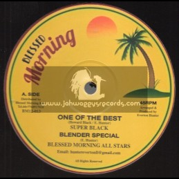 Blessed Morning-12-One Of The Best / Super Black + Serious Time / Ajdon Heights