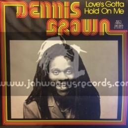 Joe Gibbs Music-Lp-Love's Gotta Hold On Me / Dennis Brown