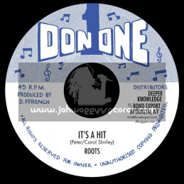 """Don One-7""""-It's a Hit / Roots"""