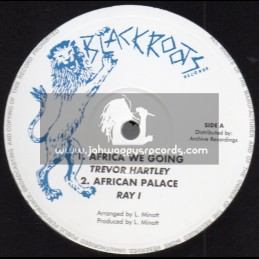 "Black Roots Records-10""-Africa We Are Going / Trevor Hartley"