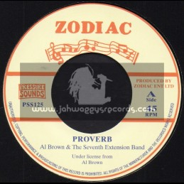 "Zodiac-7""-Proverb / Al Brown And The Seventh Extension Band"