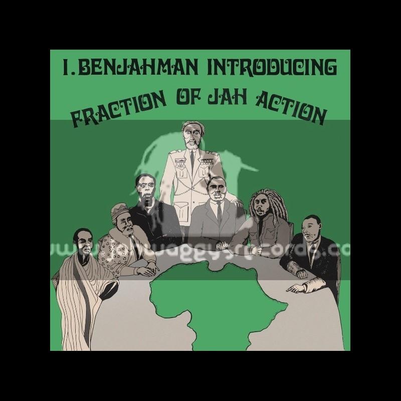 Hot Milk-Lp-Fraction Of Jah Action / I Benjahman