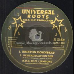 "Universal Roots-12""-Brixton Downbeat / R.D.K. Hi Fi - Jamtone Feat. Soothsayers Horns"