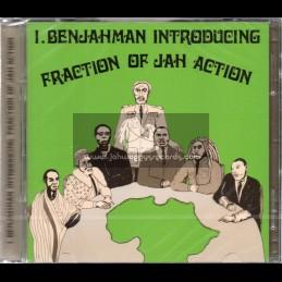 Hot Milk-Double-CD-Fraction Of Jah Action / I Benjahman