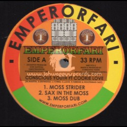 "Emperorfari-12""-Moss Strider / Conscious Youth ft Cookie Love"