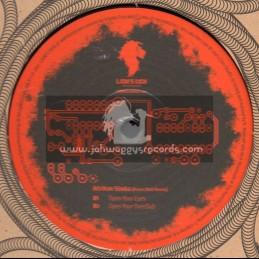 "Lions Choice-12""-Open Your Eyes /  Lion's Den & Dub Al-kimiya meet The Rockers Disciples Feat. Afrikan Simba"