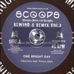 """Scoops-10""""-Rewind & Remix Vol.3 / Vibronics Meets The Disciples"""