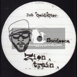 """Dub Conductor Music-10""""-Zion Train / Sandeeno + Dance / Johnny Clarke"""