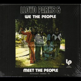 Parks-Pressure Sounds-CD-Meet The People / Lloyd Parks & We The People