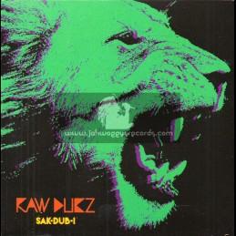 R-Bass Records-CD-Raw Dubz / Sak Dub I