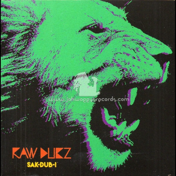 R-Bass Records-CD-Raw Dubz / Sak Dub I - Jah Waggys Records