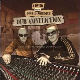 Conscious Sounds-Lp-Dub Confliction / I David Meets Dougie Conscious