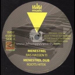 "I&I&I Music-12""-Menestrel / Ras Hassen Ti, Far East, Roots Hitek – Rockers Serie 1."