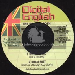 Digital English-7-Melt The Guns / Glen Brown +  I'm A Strong Girl / Vernie Riley 