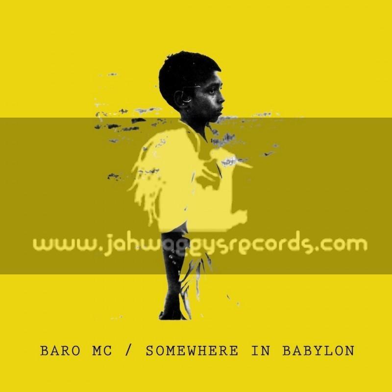 "Black Line Records-12""-Somewhere in Babylon Ep / Baro Mc"