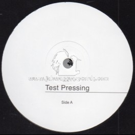 "Partial Records-7""-Test Press-Never Dwell / Lariman"