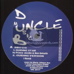 "Dub Uncle Music-12""-Guiding Star / Prince Jazzbo & Don Goliath + Praise Jahovia / Trinity & Don Goliath"