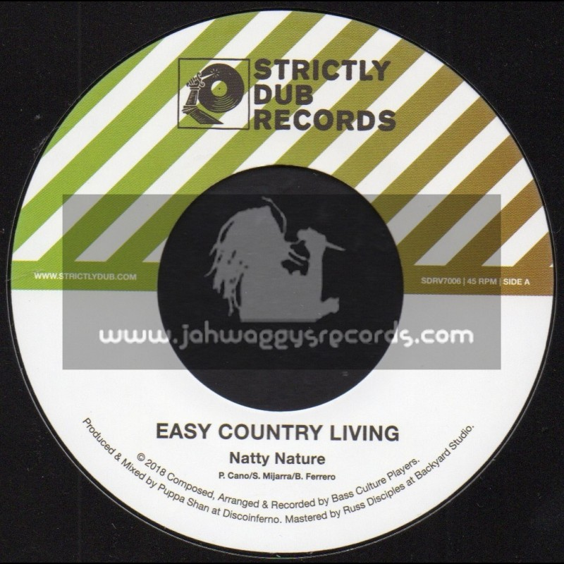 """Strictly Dub Records-7""""-Easy Country Living / Natty Nature"""