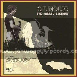 Partial Records-Lp-The Harry J Sessions / G.T. Moore
