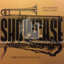 Bassplate Records-LP-Showcase / Brother Martino & Mirko Cisilino-Trumpet + Herbie D. Faders & Michael Bass-Sax
