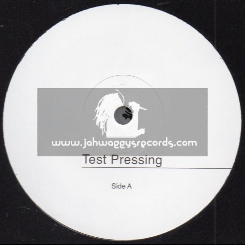"""Gaffa Blue-7""""-Test Press-Down In The Ghetto / Naggo Morris"""