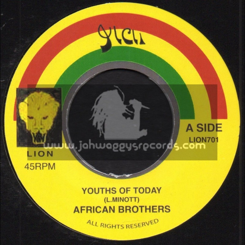 """Lion-7""""-Youths Of Today / African Brothers"""