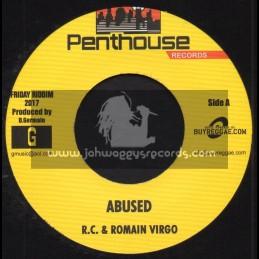 """Penthouse Records-7""""-Abused R.C & Romain Virgo + Friday / Slashe"""