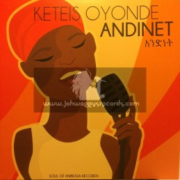 """Soul Of Anbessa Records-12""""-Natural High / Keteis Oyonde - Andinet"""