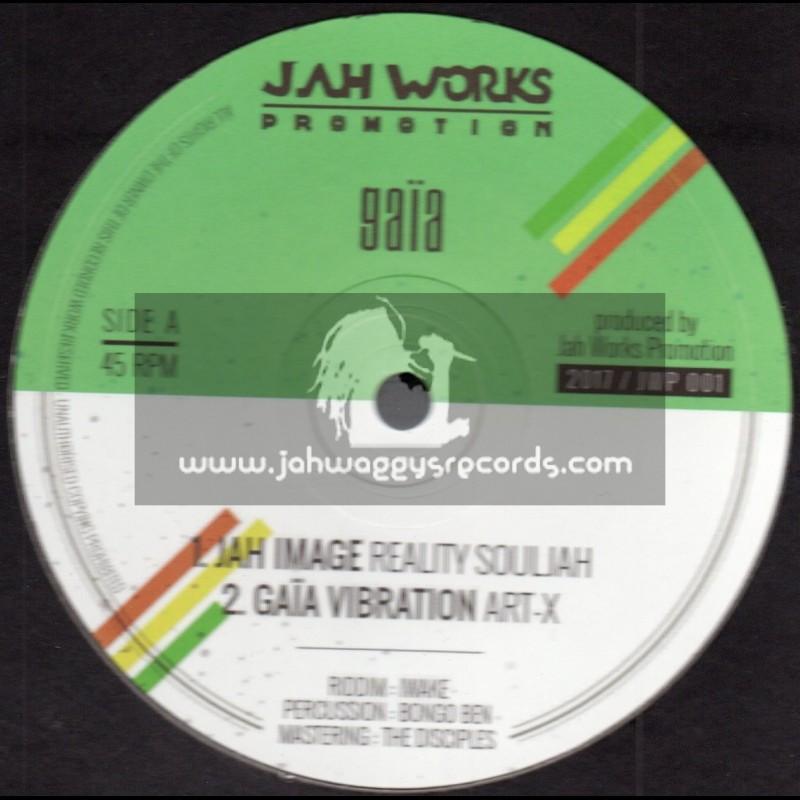 "Jah Works Promotion-10""-Jah Image / Reality Souljah"